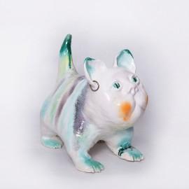 Keramikinis katinas taupyklė