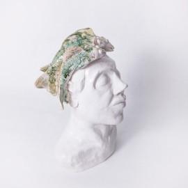 Keramikinė skulptūra su žuvimis