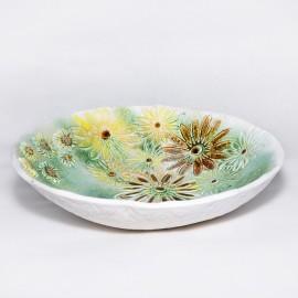 Dubuo keramikinis gėlėtas