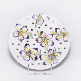 Lėkštė keramikinė. Balto molio