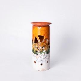 Aliejinė žvakidė oranžinė