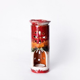 Aliejinė žvakidė raudona