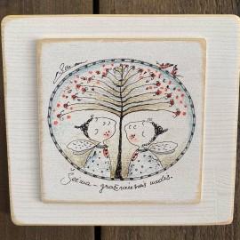 """Autorinis paveikslas """"Šeima - gražiausias medis..."""""""
