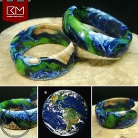 """Dervos ir medžio žiedas """"Mūsų Žemė"""""""