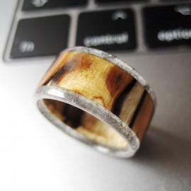 """Dervos ir medžio žiedas """"Beržinukas"""""""