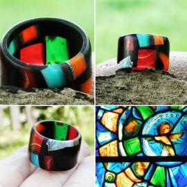 "Dervos žiedas ""Chagallo langai"""