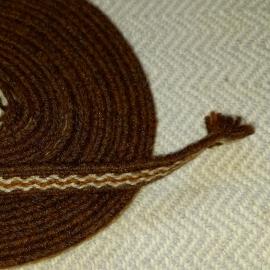 Vytinė apvadinė juostelė, ruda bangelė 1 m
