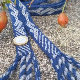 Vytinė juosta su Paragaudžio žalčiu, mėlyna, ilgis 2,10 m