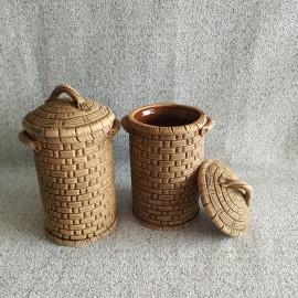 Rankų darbo keramikos indas