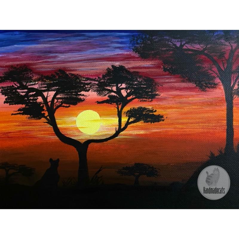 """""""Afrika"""" tapytas paveikslas"""