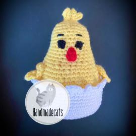 Velykinis viščiukas (nertas)