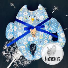 Medvilninis gėlėtas katinukas