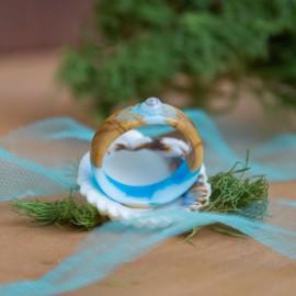 """Alyvmedžio žiedas """"Jūros turtas"""""""