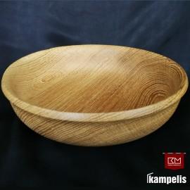 Dubuo - lėkštė ąžuolinė 24,5 cm