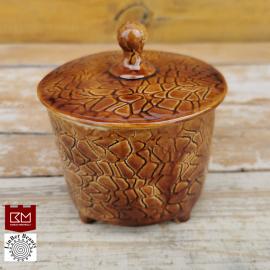Keramikos dėžutė medaus