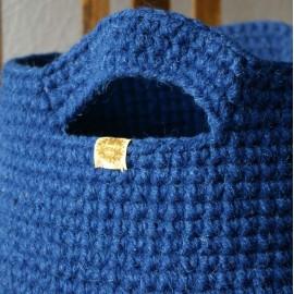 Didelis mėlynas krepšys